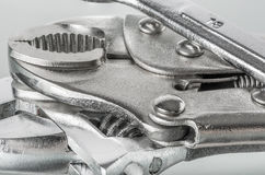 A group of chrome tools Royalty Free Stock Photos