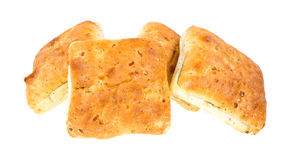 Group of ciabatta sandwich rolls Stock Photo