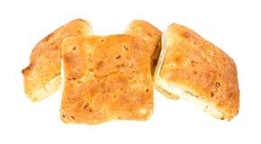 Group of ciabatta sandwich rolls Stock Photo