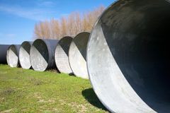 Group of circles stock photography