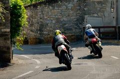 Motorbikes at Bergamo Historic Grand Prix 2017 Stock Images