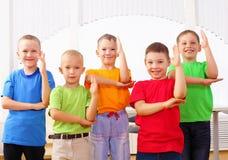 Group classmates Stock Photos