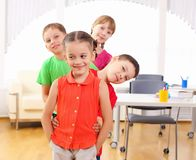 Group classmates Royalty Free Stock Photo