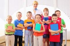Group classmates Stock Image