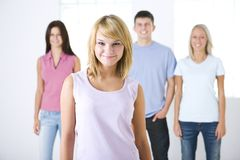 Group of classmates Stock Images