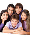 Group of close friends Stock Photo