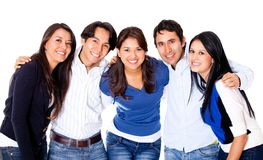 Group of close friends Royalty Free Stock Images