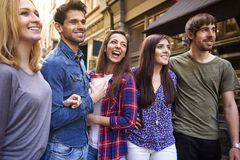 Group of close friends Stock Images