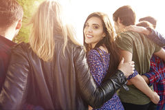 Group of close friends Royalty Free Stock Photography