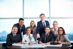Group of co-workers Stock Image