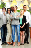 Group of co-workers standing Stock Image