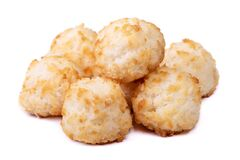 Group of coconut cookies