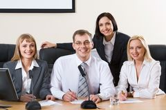 Group of colleagues Royalty Free Stock Image