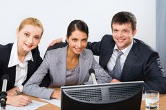 Group of colleagues Royalty Free Stock Photography