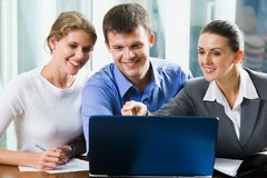 Group of colleagues Stock Images