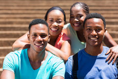Group college friends Royalty Free Stock Photography