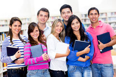 Group of college students Stock Photos