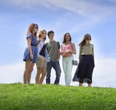 Group of college/university students Stock Photography