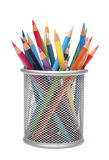 Group of color pencils Royalty Free Stock Images