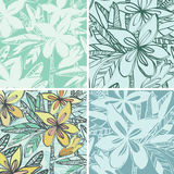 Group of colored wallpapers Royalty Free Stock Images