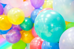 Group of colorful balloons Royalty Free Stock Image