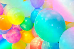Group of colorful balloons Royalty Free Stock Photography