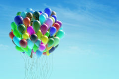 Group of colorful balloons Royalty Free Stock Images