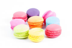 Group of colorful macaron Royalty Free Stock Photography