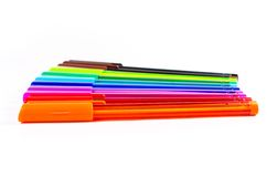 Group of colorful pen Stock Photography