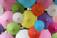 Group of colorful umbrella Royalty Free Stock Photography
