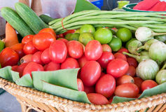 Group of colorful vegetables Stock Image