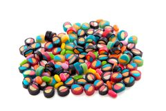 A group colorfully candy Stock Images