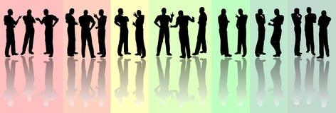 Group communication Royalty Free Stock Image