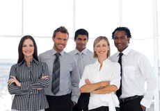 A group of Confident business people Royalty Free Stock Photos