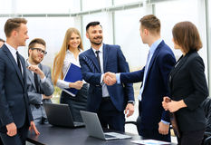 Group of confident business people Stock Photos