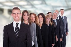 Group of confident business people Royalty Free Stock Images