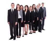 Group of confident business people Royalty Free Stock Photo