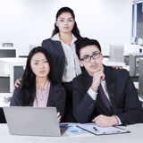Group of confident multicultural business team Royalty Free Stock Photo