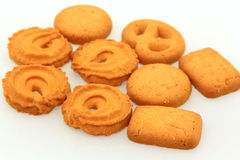 Group Cookie sweets Stock Image