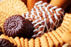 Group of cookies royalty free stock image