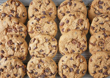 Group cookies top view Stock Images