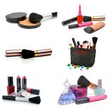 Group cosmetics Royalty Free Stock Photography