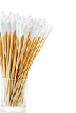 Group of cotton sticks Royalty Free Stock Photo