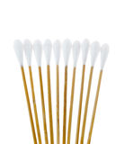 Group of cotton sticks Royalty Free Stock Image
