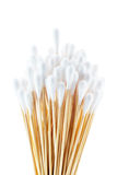 Group of cotton sticks Stock Photo