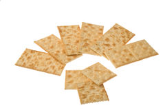 Group of crackers Stock Photography
