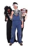 A group of creepy halloween creatures Stock Photo