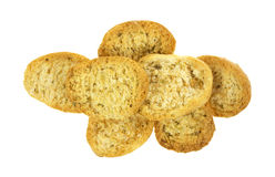 Group of crispbread Royalty Free Stock Image