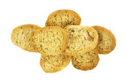 Group of crispbread Royalty Free Stock Image