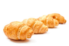 Group of croissants Royalty Free Stock Photos